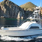 Cabo San Lucas - Visserijcharter - 60 voet Bertram - Blauwe zee