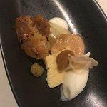 Tonkabonen Crème Catalana, Ananas und Joghurt-Glacé