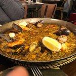 Seafood Paella, Can Ramonet