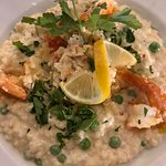 Shrimp and lobster risotto