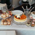 Chariot de dessert