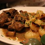 Slowly cooked rabbit in orange peels - the best rabbit dish in Malta and Gozo