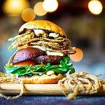 Portobelloburger på økologiske portobelloer fra Tvedemose og vores egne briocheboller