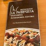 Foto de Restaurante La Parroquia Potosina