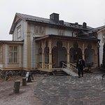 The wooden Villa Linudd