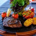 marble steak