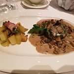 Beef Fillet with Porcini mushrooms