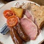 1/2 size english breakfast
