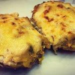 Patatas rellenas de atún. Mejor forma de comer proteína? Yo creo que no!