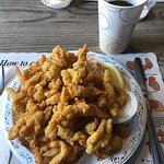 Clam strips and fries