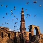‪Heritage Tour of Delhi including Qutub Minar and Mehrauli Archaeological Park‬