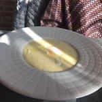 Huevo trufado