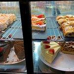 Пирожные в ассортименте