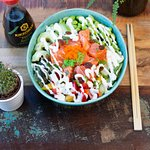 Our signature bowl: Sweet Salmon