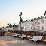 Историческая часть г.Омска -улица Ленина, размещающая архитектурный ансамбль конца XIX — начала