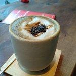 houjicha latte