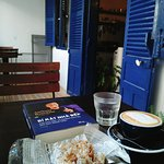 Books and cafe