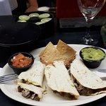 Quesadilla with Skirt Steak