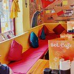 Warm and cosy afternoons at Sol.