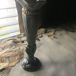 Its a vase with the endless tavern logo ingraved on it