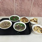 Healthy Pig-Pig Blood Soup照片