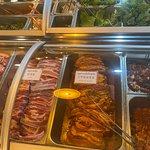 fresh beef and pork