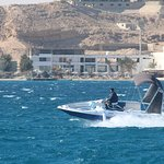Private Speed boat to Orange Bay Island snorkeling Sea Trip Water Sport-Hurghada