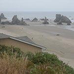 un tratto di spiaggia