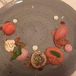Dessert Erdbeer Rhabarber- Symphonie