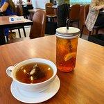 伯爵果茶 + 西柚檸檬冰茶