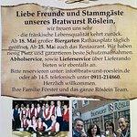 Bratwurst Roeslein resmi