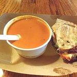 Amazingly delicious tomato soup