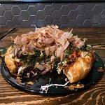 日式海鮮大阪燒薄餅