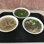 Healthy Pig-Pig Blood Soup照片