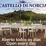 Castello di Norcia. Italian restaurant Albufeira