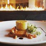 Torchon de foie gras au cidre de glace