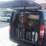 Minivan Mercedes Viano capiente per trasportare tutti i tuoi bagagli www.salernocarservice.com