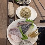 鮮蚵.老餓麵.鯛魚片.手工花枝漿.
