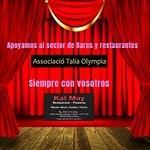 Associació Talia olympia, apoyamos el sector de Bares y restaurantes.