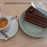Cake and caffè