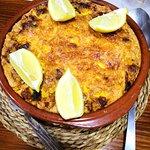 Típico arroz con Costra ilicitano