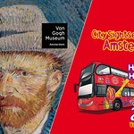 Amsterdam Combo: Van Gogh Museum & City Sightseeing Hop-On Hop-Off Bus