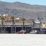 Vistas del restaurante desde la Plaza Patrona de Canarias