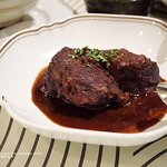 Wine braised beef cheek