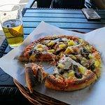 God hawaipizza med biff.