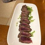 Sashimi de carne