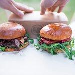 Nasze burgery. :)