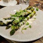 Asparagus as a side dish