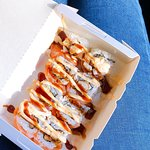 Salmon Chicken Roll