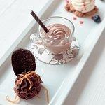 Fantasia di mousse al cioccolato